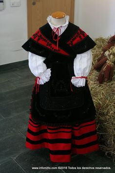Folk Costume, Costumes, Folk Clothing, Culture, Spain, Embroidery, Clothes, Dresses, Portuguese