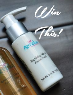 Aeveka Repairing Micro Facial Scrub - win a bottle at Painted Ladies!