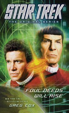Star Trek Check Out The Cover of Foul Deeds Will Rise