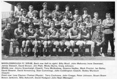 MIDDLESBROUGH FOOTBALL TEAM PHOTO 1979-80 SEASON