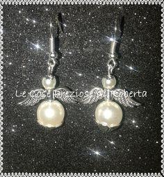 "Orecchini ""Angelo"" perle"
