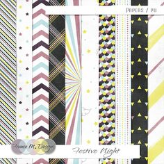 Festive Night | Papers | France M. Designs