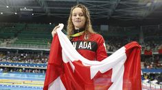 Penny Oleksiak has captured her second medal of the Olympic Games in as many days at Rio this time an individual silver in the 100 metre butterfly. On Sunday evening at the Olympic Aquatics P… Olympic Medals, Olympic Sports, Olympic Team, Rio Games, Rio Olympic Games, Rio Olympics 2016, Summer Olympics, Making The Team, Commonwealth Games