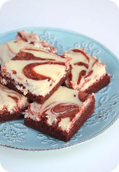 C and J's Good Grub: red velvet cheesecake brownies