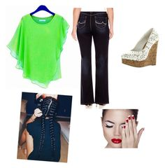 """""""Plus size  patrick's day outfit"""" by cherokee-thompson on Polyvore featuring plus size clothing"""