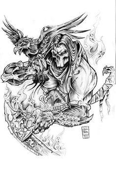 darksiders tattoos - Google Search
