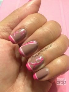 Support with Pink Polish