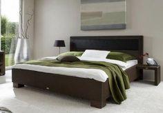 Camas de rattan en dormitorios modernos