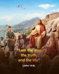 """Want to know God? You should first understand """"I am the truth, the way, and the life. Christian Music Videos, Christian Movies, Jesus Christ Quotes, Jesus Songs, Jesus Smiling, Sermon Illustrations, Sunday Sermons, Good Night Prayer, Jesus Is Coming"""