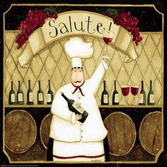 Kitchen Favorites: Salute Pôsters por Dan Dipaolo na AllPosters.com.br