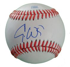 Boston Red Sox Eric Wedge signed Rawlings ROLB leather baseball w/ proof photo.  Proof photo of Eric signing will be included with your purchase along with a COA issued from Southwestconnection-Memorabilia, guaranteeing the item to pass authentication services from PSA/DNA or JSA. Free USPS shipping. www.AutographedwithProof.com is your one stop for autographed collectibles from Boston sports teams. Check back with us often, as we are always obtaining new items.