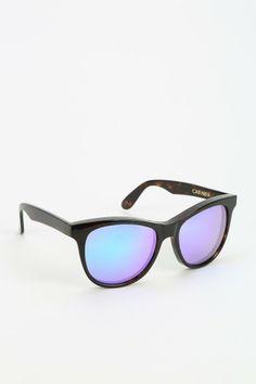 Wildfox Couture Deluxe Cat-Farer Mirrored Sunglasses