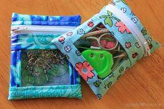 Mini Notions Bag Tutorial | FaveCrafts.com