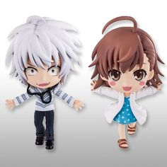 【Toaru Majutsu no Index】iracle of Endymion -C- Chibi Chun Chara [ Accelerator & Last order ]  [Manufacturer]Banpresto  [Scale]Height approx:605cm  [Release Date]late January-2013  URL: http://aikoudo.com/goods_en_11928.html