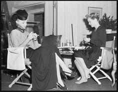 Bette Davis with Ann Sheridan