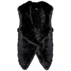 Meteo by Yves Salomon Fur Gilet (11,540 MXN) ❤ liked on Polyvore featuring outerwear, vests, black, gilet vest, fur vest, meteo by yves salomon, fur gilet and fur waistcoat