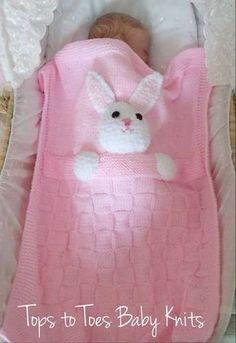 tavşanlı kolay battaniye ( acıklaması eklenmiştir ) - Ayın Etkinliği Yetişkin-Çocuk Örgleri