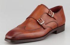 Magnanni Double Monk Strap Loafer - Best Shoes for Men - Esquire