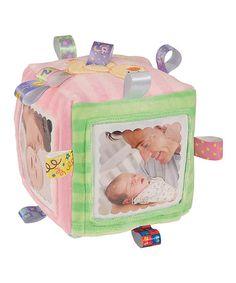 Look at this #zulilyfind! Taggies Pastel Photo Cube #zulilyfinds