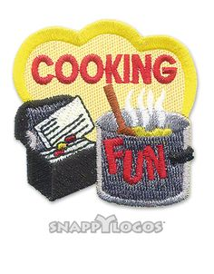Cooking Fun Patch | Snappylogos, Inc.-Snappylogos.com