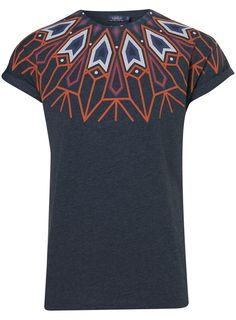 bcbf5e5ee94 Aztec Neck High Roll T-Shirt T Shirt And Jeans
