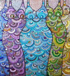 Peppy Queens by artist Leena Nio