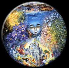 Child of the Universe  Artwork by Josephine Wall  (published on fb)