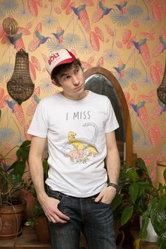 I MISS THE DINOSAURS tee via UNSEVEN. Click on the image to see more!