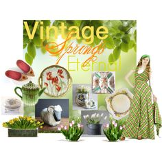 Vintage Springs Eternal by vintageandmain  www.etsy.com/pages/vintageandmain/vintage-season