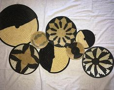 Africa Jewelries & African Baskets Decor by MamaZuriStyle on Etsy