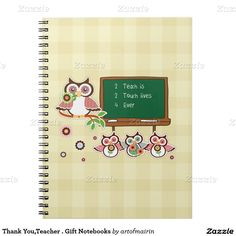 Fun Owl Design Thank You Teacher / Teacher Appreciation Day / Teacher Appreciation Week / Graduation Gift Magnets for Teachers , at zazzle.com