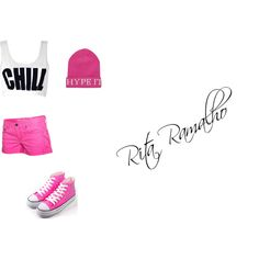 CHILL by ritinha-ramalho on Polyvore featuring Hurley and River Island