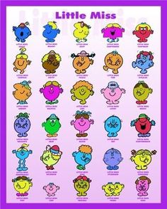 Mr Men And Little Miss Craft Ideas