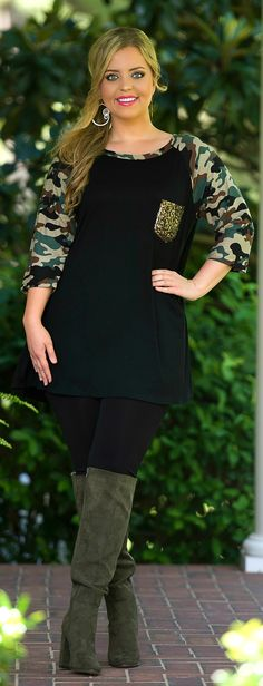 Stand At Attention Top - Perfectly Priscilla Boutique