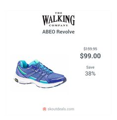 4c7c0924ee Get performance comfort wearing the women s ABEO Revolve. This running shoe  utilizes channeled air chambers for cushioned impact absorption.