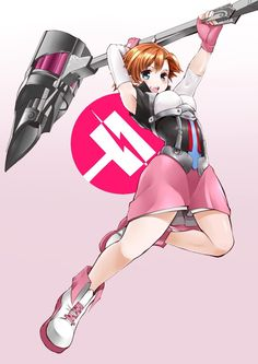 Nora Valkyrie from RWBY - one of my favorite weapons in the show