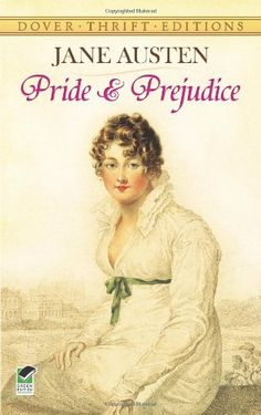 Pride and Prejudice (Dover Thrift Editions) by Jane Austen http://smile.amazon.com/dp/0486284735/ref=cm_sw_r_pi_dp_N1YOub0119YEV