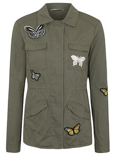 Butterfly Appliqué Jacket, read reviews and buy online at George at ASDA. Shop from our latest range in Women. Make a statement with this gorgeous appliqué j...