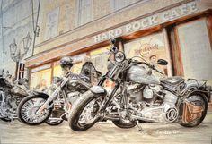 WOW! I've just sold my #Harley-Davidson Legends #drawing to Monterey! There only 2 prints left in my shop https://www.etsy.com/listing/237934477/harley-davidson-legends-large-wall-art?ref=shop_home_feat_1