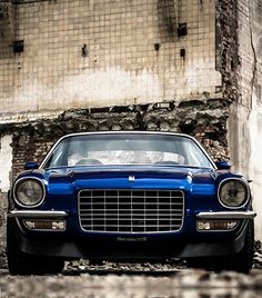 """The very popular Camrao A favorite for car collectors. The Muscle Car History Back in the and the American car manufacturers diversified their automobile lines with high performance vehicles which came to be known as """"Muscle Cars. Chevrolet Camaro, 1970 Camaro, Camaro Ss, Blue Camaro, Camaro 2018, Maserati, Lamborghini, Ferrari 458, Custom Muscle Cars"""