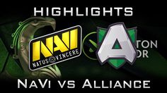 NaVi vs Alliance Boston Major 2016 EU Highlights Dota 2