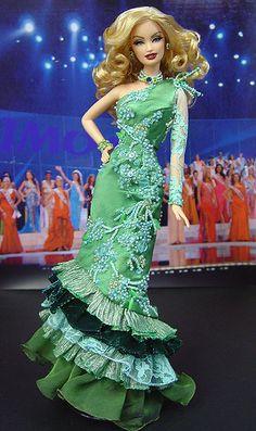OOAK Barbie NiniMomo's Miss Jersey 2011