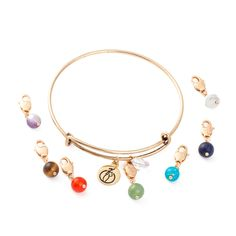 Woman gold plating Crystal Bracelet Tiger Eye color stone bangle buckle mobile phone chain jewelry gift