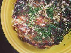 低糖質 キャベツと卵のふわとろお好み焼きの画像