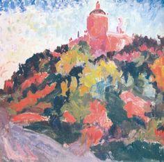 Oleksa Novakivsky: Expressionist Saint Georges Cathedral (1930)