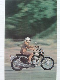 1973_HONDA_CB750Four K3+CB500Four K2 brochure.USA_04-07 Bonneville, Old Motorcycles, Honda Cb750, Bullshit, Cool Cars, Wheels, Bike, Vehicles, Classic