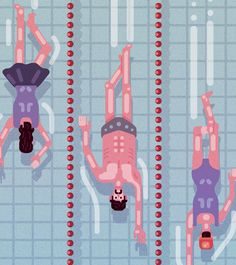 Evolution of Swimming on Behance