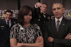 Hier liefern sich die Obamas ein Duell mit der Queen