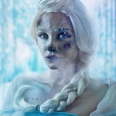 Makeup artist Mykie, aka Glam & Gore, is combining her brush skills with her imagination, exploring the lives of Disney princesses and other well-known characters.  She's turning childhood fantasy into horror in a stylish way and some of the results will leave you wishing these much-loved classic tales were a little more morbid (and others will haunt your dreams).