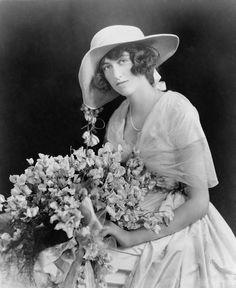 Cornelia Stuyvesant Vanderbilt, Consuelo Vanderbilt's first cousin, daughter of Geo W. Vanderbilt II and Edith Stuyvesant Dresser Vanderbilt Gerry. Cornelia was an only child who married John Cecil. Pictured c. 1924.